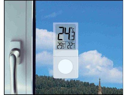 TFA venkovní okenní digitální teploměr na okno 30.1030 VISTA