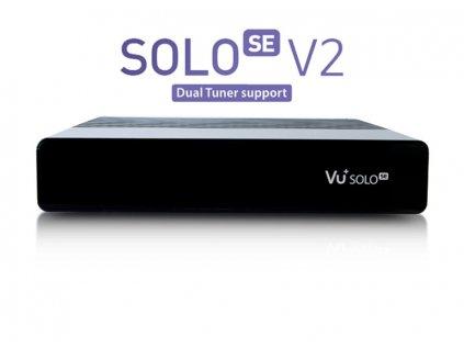 Vu+ Solo SE V2 black (1x Dual DVB-S2 tuner)