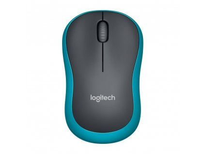 Logitech Wireless M185 modrá