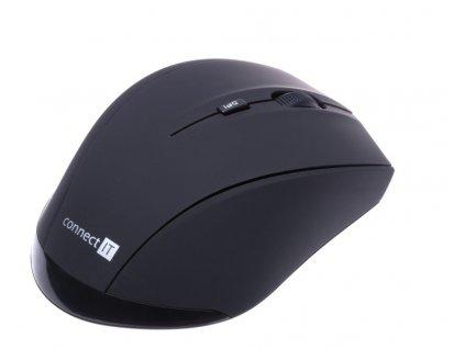 Connect IT CI-457 Travel laserová myš, černá