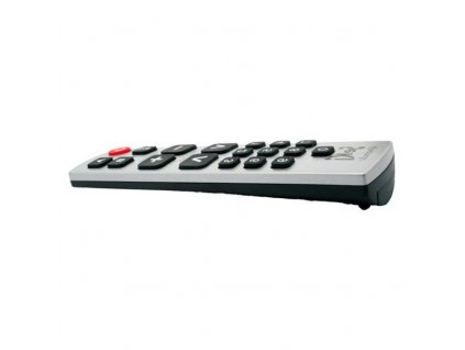 Univerzální dálkový ovladač SEKI GRANDE černý/stříbrný pro seniory