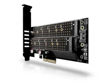 AXAGON PCEM2-D PCIe NVMe+NGFF M.2 adaptér