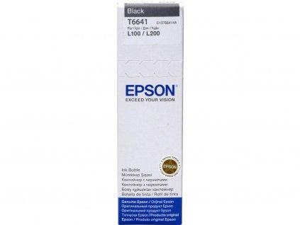 Epson T6641 70ml, černá