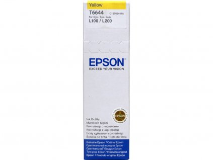 Epson T6644 Yellow, žlutá