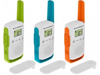Motorola Talkabout T42, Triple Pack