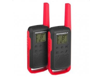 Motorola Talkabout T62, červená