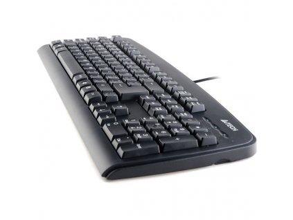 A4tech klávesnice KB-720, CZ, USB, black