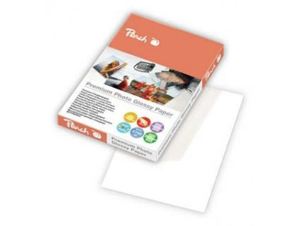 Peach fotopapír premium lesklý 10x15cm, 260g/m2, 50 listů