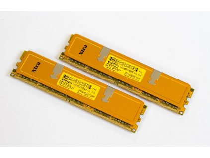 EVOLVEO Zeppelin GOLD DDR2 2GB(2x1GB) 800MHz (s chladičem, box), CL6