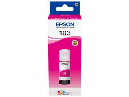 Epson EcoTank 103 Magenta, purpurová