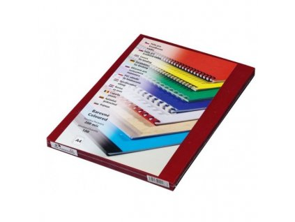 PRESTIGE Fólie, A4/100ks, 200 µm, červená