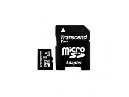 Transcend microSDHC 4GB Class10 (TS4GUSDHC10)