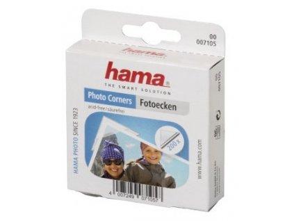 Hama fotorůžky samolepicí, transparentní, 200 ks (7105)