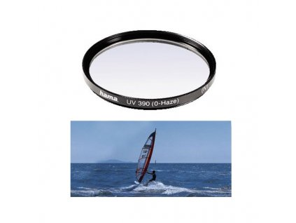 HAMA filtr UV 0-HAZE M 52 černý (70052)