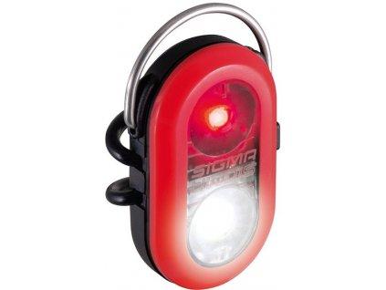 SIGMA světlo dual Micro Duo červená