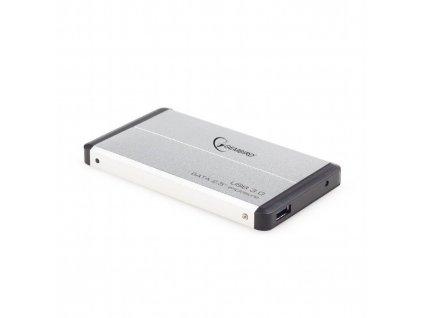 "Gembird EE2-U3S-2-S 2.5"" box, stříbrný"