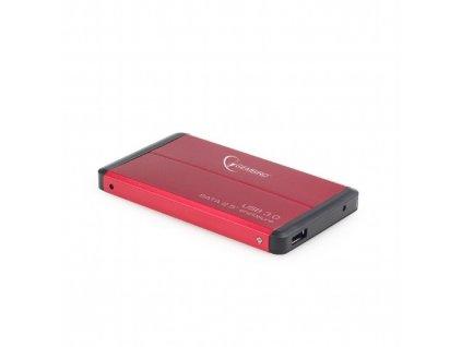 """Gembird EE2-U3S-2-R 2.5"""" box, červený"""