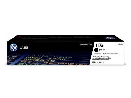 HP 117A Black Toner (W2070A) - originální