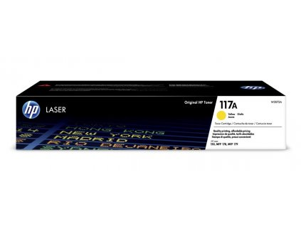 HP 117A Yellow Toner (W2072A) - originální