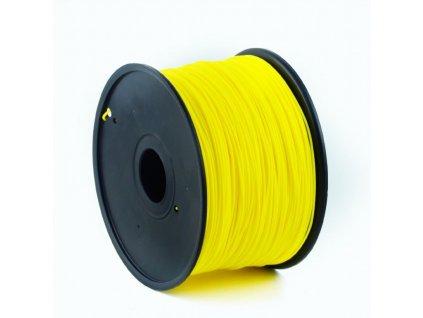Gembird filament ABS 1.75mm 1kg, žlutá