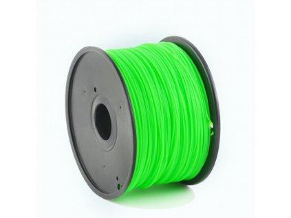 Gembird filament ABS 1.75mm 1kg, zelená