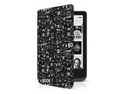 Connect IT Doodle pouzdro pro PocketBook 616/627/632, černé