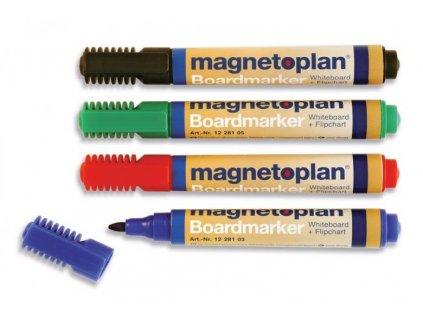 Magnetoplan Popisovač, barevný mix, 4ks
