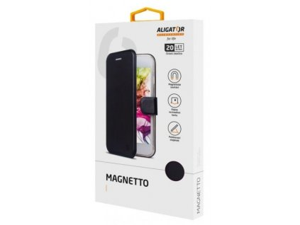 Aligator Magnetto book pro Samsung A6 2018, černé