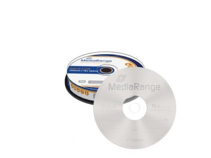 DVD+R MediaRange 4,7GB  16x spindl (10pack)
