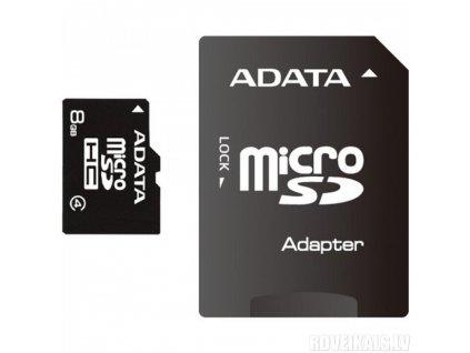 ADATA MicroSDHC (AUSDH8GCL4-RA1)