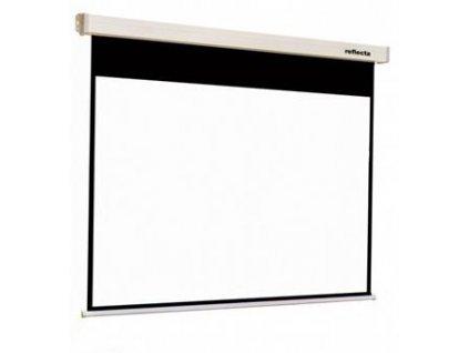 REFLECTA plátno s rolet. mech. se soft. brzdou ROLLO Crystal Lux (200x159cm, 4:3, viditelné 196x147cm)