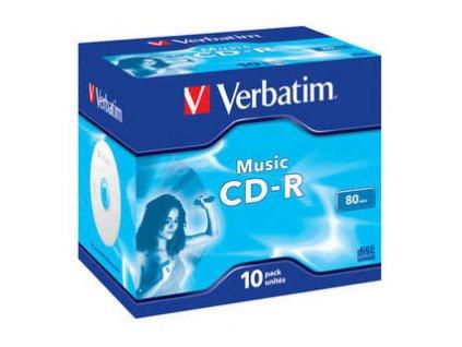 Verbatim CD-R Live it! 80MIN AUDIO 10-PACK