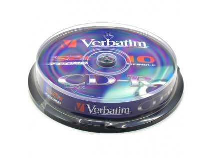 Verbatim CD-R 700MB/80MIN 48x cake 10 ks