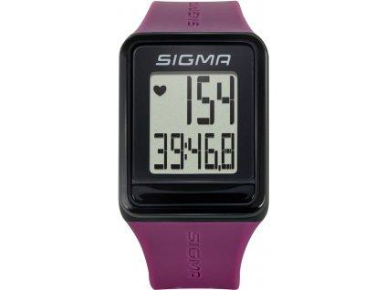 SIGMA sporttester iD.GO  plum