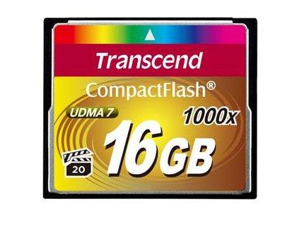 Transcend CompactFlash 16GB 1000x Ultimate