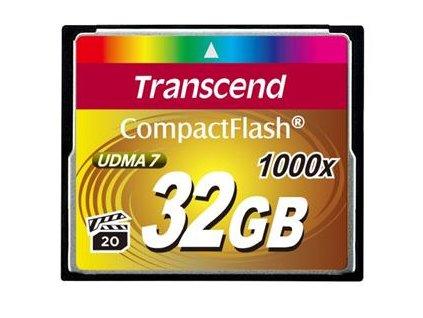Transcend CompactFlash 32GB 1000x (TS32GCF1000)