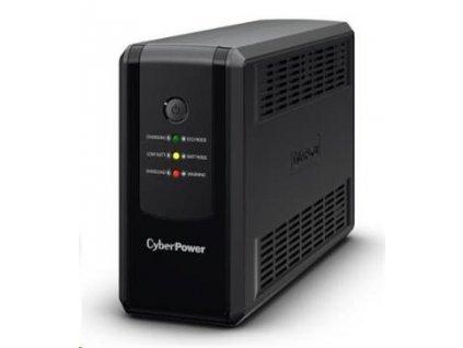 CyberPower UT GreenPower Series UPS 650VA/360W, české zásuvky