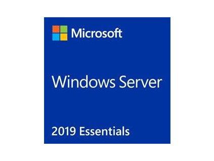 MS OEM Windows Server Essentials 2019 x64 CZ 1pk DVD 1-2CPU
