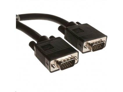 C-TECH VGA kabel, M/M, stíněný, 1.8m