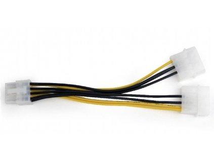 Gembird Cablexpert 2x Molex na PCI express 8-pin