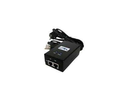 Ubiquiti POE-24, 24V, 0,5A, 12W, napájeci zdroj s integrovaným PoE injektorem