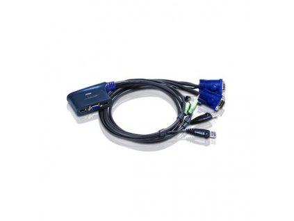 ATEN KVM switch CS-62US USB 2PC mini , a