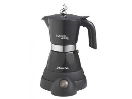 Ariete 1358/10 moka kávovar černý