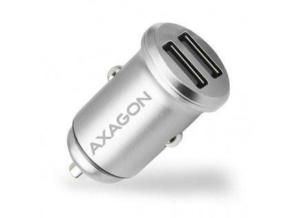 AXAGON PWC-5V4 2.4A + 2.4A car charger