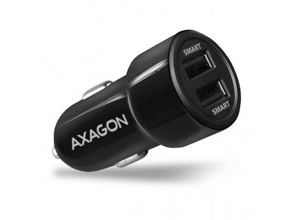 AXAGON PWC-5V5 2.4A + 2.4A car charger