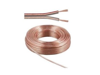 PremiumCord Kabely na propojení reprosoustav 100% CU měď 2x1,5mm 10
