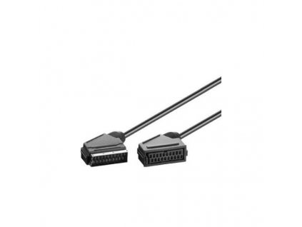 Kabel SCART-SCART 2m M/F prodlužka
