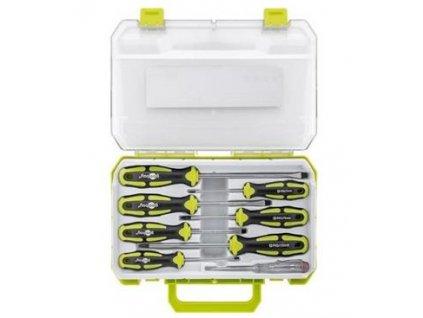 Set 8 přesných šroubováků - pro všechny běžné šroubovací a montážní práce