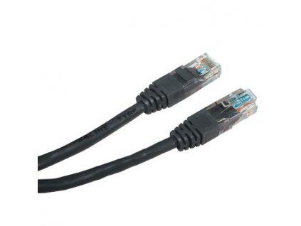 PATCH KABEL Patch kabel UTP CAT6 1m černý