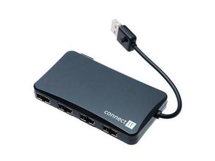 Connect IT CI-141 USB 2.0 HUB se 4 oboustrannými porty